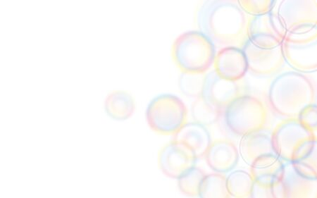 Colorful pop circular gradient background