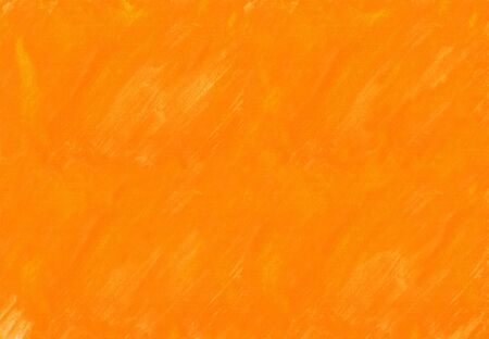 Orange watercolor paint painted color spot texture