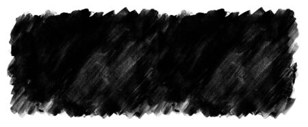 Black watercolor paint painted color spot texture