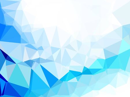 blue polygon image texture background