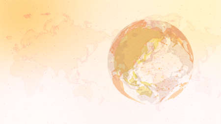 Digital Network Image Background In Light yellow Imagens