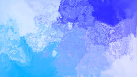 blue and white Watercolor Image Background