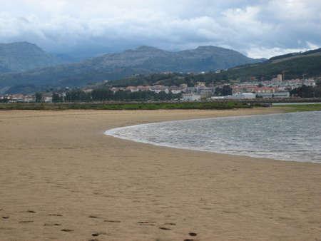northern spain: Beach in northern Spain
