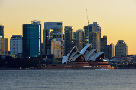 sydney opera house: Sydney Opera House and Circular  Quay NSW  Australia 22 Aug 2016