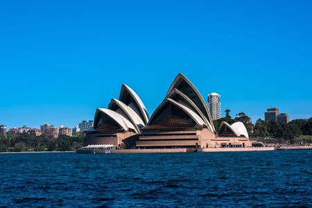 utzon: Sep,24,2016 Sydney Opera House Australia is famous arts center. It was designed by Danish architect Jorn Utzon, the building was formally opened on 20 October 1973.