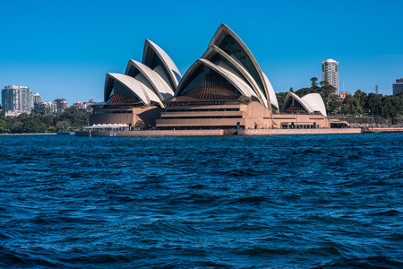wales: Sydney Opera House NSW Australia.Sep 26,2016Sydney Opera House is one of the modern building, well known worldwide.