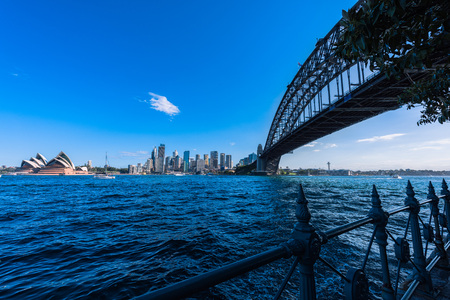 wales: Sydney Harbour Bridge and Sydney Opera House NSW Australia. Sep 26,2016 the Sydney Opera House is one of the modern building, well known worldwide.