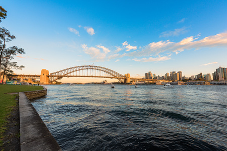 Sydney Harbour Sydney Australia .Oct 02,2016Sydney Harbour is beautiful meandering waterway,famous around the word.
