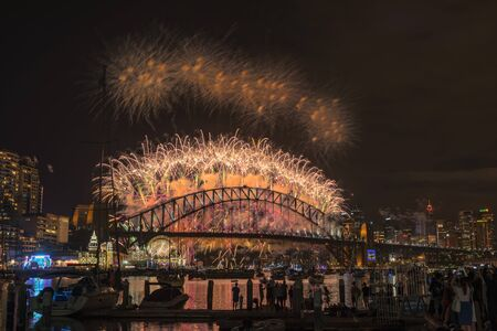 unrivalled: Sydney Fireworks Eve New year Show at Harbour bridge from Clak park Sydney Australia.JAN 01,2017  the world-famous Sydney New Years Eve fireworks from an unrivalled vantage point.