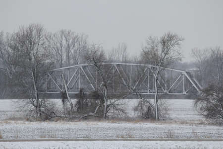 trestle: snowy trestle