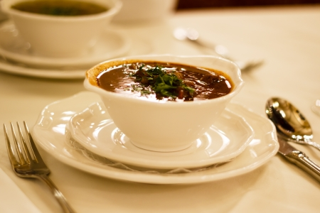 goulash soup, Vienna, Austria photo