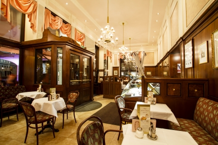 Demel café, Vienna