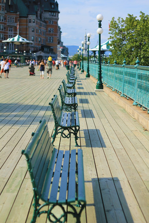 adulation: Promenade near Chateau de Frontenac, Quebec