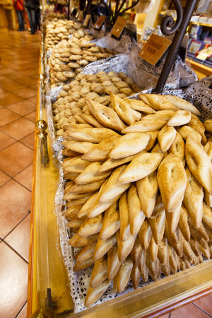 adulation: La Cure Gourmande - biscuit shop, Paris, France  Stock Photo