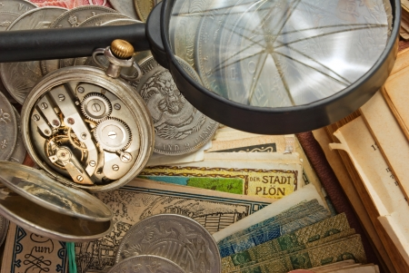 kopek: Still life from a variety of antiques