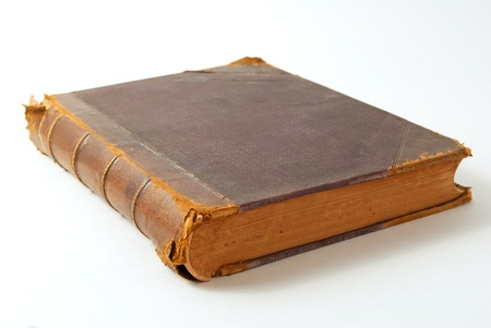 talmud: An old book close up on a light background