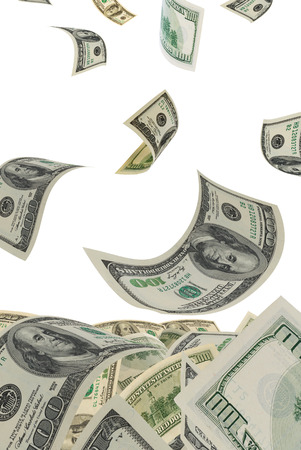 transfer pricing: Deformed dollars collected in a heap