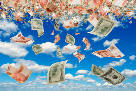 transfers: Currency exchange rate of the ruble against the dollar usd rub