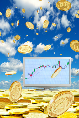 Successful operations in the foreign exchange market  photo