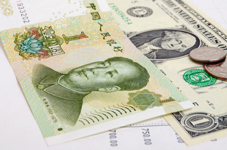 rmb: Quotations of of the RMB to the dollar on the foreign exchange market.