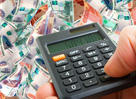 accrual: Getting fast and great profit on foreign currency transactions. Stock Photo