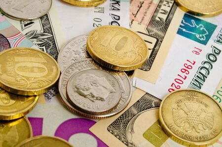cashing: Ruble exchange rate against the dollar.