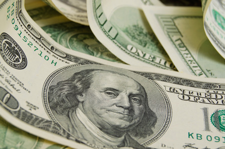 A lot of cash US dollars. Stock Photo - 37970727