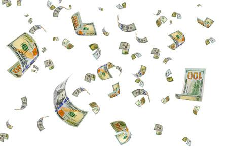 factura: El dinero est� volando en el aire.