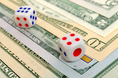 Dices are on the US dollar.