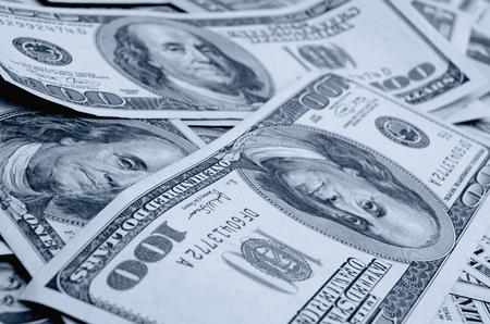 dollars: Cash dollars in various denominations on the plane.