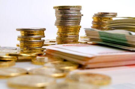 international money: Exchange rates on the international money markets.