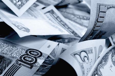 Valutaspeculatie op de roebel-dollarkoers.