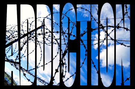 Of barbed wire against the sky.
