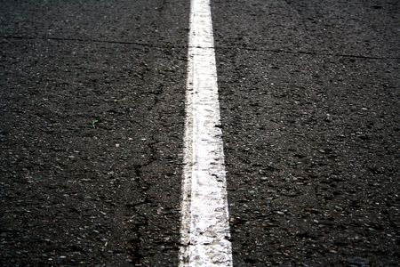 field stripped: road asphalt close-up