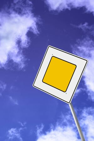 traffic sign clear solar daytime photo