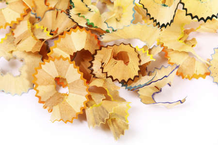 pencil shavings Stock Photo - 8816734