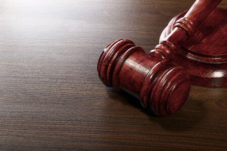 ruling: Wooden Judges Gavel