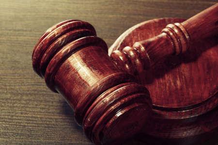 defendant: Wooden Judges Gavel