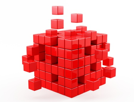 red cube photo