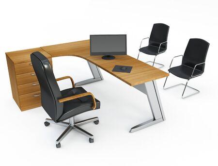 mobilier bureau: Bureau du directeur
