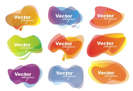 luster: vector shapes for speech eps10