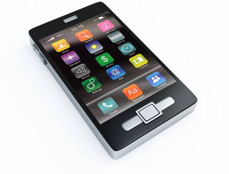 touchscreen phone Stock Photo - 9497654