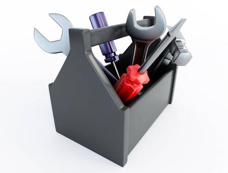 screw key: Toolbox