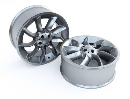 car disk wheels Stock Photo - 9640014