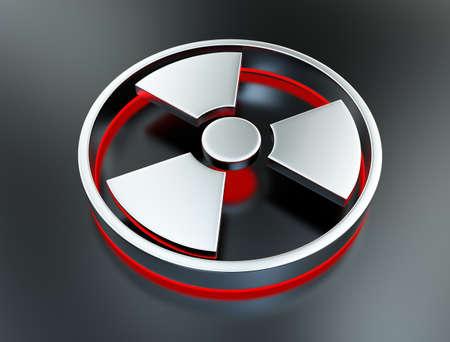 radiactividad: S�mbolo de la radiactividad