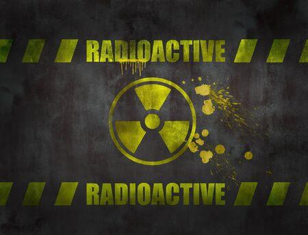 atomo: s�mbolo nuclear Foto de archivo