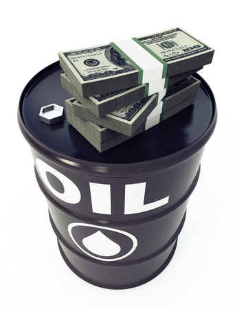 Oil Barrel Stock Photo - 9685679