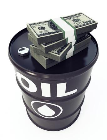 oil drum: Oil Barrel Stock Photo