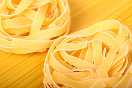 Italian pasta closeup.Macaroni photo