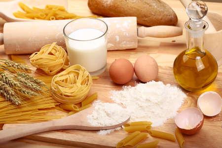 preparations pasta Stock Photo - 9884692
